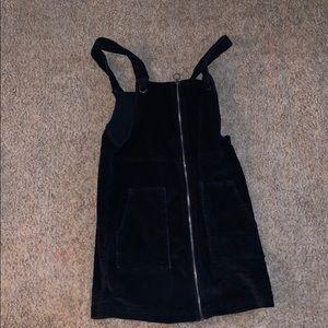 Black skirt dress